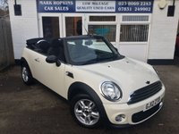 2012 MINI CONVERTIBLE 1.6 ONE 2d 98 BHP £7995.00