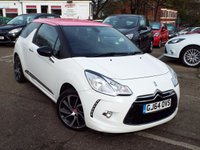 USED 2014 64 CITROEN DS3 1.6 E-HDI DSTYLE PLUS 3d 90 BHP ONE Owner FULL Citroen Service History