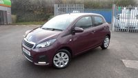 USED 2015 15 PEUGEOT 108 1.0 ACTIVE 5d 68 BHP LOW MILEAGE AND NIL ANNUAL ROAD TAX!!