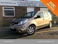 2009 NISSAN NOTE 1.5 VISIA DCI 5d HUGE SERVICE HISTORY, 2 KEYS, CHEAP TAX  £3290.00