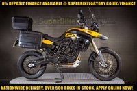 USED 2010 10 BMW F800GS 800CC 0% DEPOSIT FINANCE AVAILABLE GOOD & BAD CREDIT ACCEPTED, OVER 500+ BIKES IN STOCK