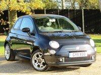 2011 FIAT 500 1.2 S 3d 69 BHP £4990.00