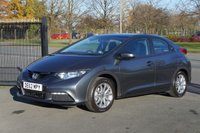 USED 2012 62 HONDA CIVIC 1.3 I-VTEC SE 5d 98 BHP Full dealer warranty included