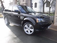 2010 LAND ROVER RANGE ROVER SPORT 5.0 V8 HSE 5d 510 BHP £15995.00