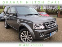 "USED 2015 65 LAND ROVER DISCOVERY 3.0 SDV6 HSE 5d AUTO 255 BHP 20"" SATIN ALLOYS, SAT NAV, FULL LEATHER, PANORAMIC ROOF, REVERSE CAMERA, 7 SEATS, HEATED FRONT SEATS, FULL SERVICE HISTORY, SPARE KEY"