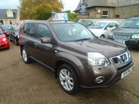 USED 2011 11 NISSAN X-TRAIL 2.0 TEKNA DCI 5d 171 BHP LOW MILEAGE DIESEL,WITH DEALER HISTORY,LIGHT USE ONLY, YOU WONT FIND A BETTER ONE