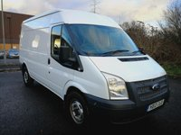 USED 2012 12 FORD TRANSIT 2.2 330 1d 124 BHP ONE OWNER - DIRECT LEASE COMPANY
