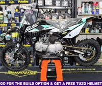 USED 2019 STOMP SUPERSTOMP 120R PIT BIKE All New for 2019, FREE Helmet With Build & Warranty Option