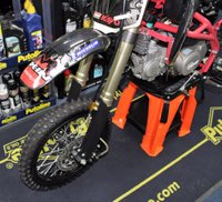 USED 2018 STOMP SUPERSTOMP 140 RACE BIKE All New for 2018, New Look, New Colours, New Design