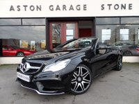 USED 2013 63 MERCEDES-BENZ E CLASS 2.1 E250 CDI AMG SPORT CONVERTIBLE **AMG SPORT PLUS PACK** AUTO  ** SAT NAV * COMAND * AIR SCARF * 1 OWNER **