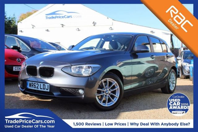 View our 2012 62 BMW 1 SERIES 2.0 116D SE 5d AUTO 114 BHP