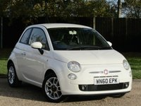 2010 FIAT 500 1.2 SPORT 3d 69 BHP £4590.00