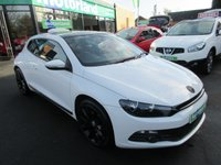 2010 VOLKSWAGEN SCIROCCO 2.0 GT DSG 3d AUTO 211 BHP £9500.00