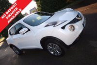2014 NISSAN JUKE 1.6 TEKNA XTRONIC 5d AUTO 117 BHP TOP SPEC £11490.00
