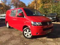 USED 2015 64 VOLKSWAGEN TRANSPORTER 2.0 T32/140 TDI KOMBI HIGHLINE LWB Air Conditioning, Bluetooth, 5 Seat Kombi
