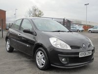 USED 2006 06 RENAULT CLIO 1.6 PRIVILEGE 16V 5d 111 BHP FULL RENAULT SERVICE HISTORY, 12 MONTHS MOT, 2 KEYS, EXCELLENT CONTION.
