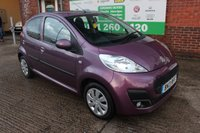 USED 2013 13 PEUGEOT 107 1.0 ACTIVE 5d 68 BHP +5 DOOR +FREE Tax Band +Just Serviced