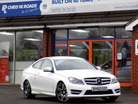 USED 2012 62 MERCEDES-BENZ C CLASS C180 1.6 BLUEEFFICIENCY AMG SPORT PLUS 2dr 154 BHP *ONLY 9.9% APR with FREE Servicing*