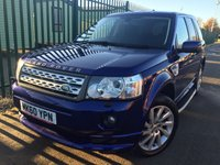 USED 2010 60 LAND ROVER FREELANDER 2 2.2 TD4 GS 5d 150 BHP FACELIFT BODYKIT SIDE STEPS 19 ALLOYS FSH NO FINANCE REPAYMENTS FOR 2 MONTHS STC. 4WD. FACELIFT MODEL. BODYKIT. SIDE STEPS. STUNNING BLUE MET WITH BLACK CLOTH TRIM. HEATED SEATS. 19 INCH UPGRADED ALLOYS. COLOUR CODED TRIMS. PRIVACY GLASS. PARKING SENSORS. BLUETOOTH PREP. AIR CON. TRIP COMPUTER. R/CD PLAYER. 6 SPEED MANUAL. MFSW. MOT 11/18. ONE PREV OWNER. FULL SERVICE HISTORY. FCA FINANCE APPROVED DEALER. TEL 01937 849492.