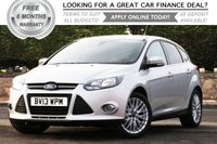 2013 FORD FOCUS 1.6 ZETEC 5d 104 BHP £SOLD