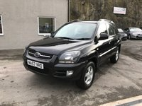 USED 2007 57 KIA SPORTAGE 2.0 XE CRDI 5d 139 BHP ** JUST HAD NEW CAMBELT FITTED + SERVICED  **
