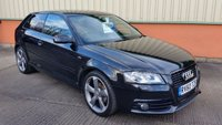 2010 AUDI A3 2.0 TDI S LINE BLACK EDITION 3d 138 BHP £SOLD