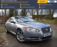USED 2009 09 JAGUAR XF 3.0 V6 LUXURY 4d 240 BHP 80,835 MILES, FULL SERVICE HISTORY, SAT NAV, FULL LEATHER UPHOLSTERY, BLUETOOTH CONNECTIVITY, CRUISE CONTROL, FRONT & REAR PARKING SENSORS + MUCH MORE!
