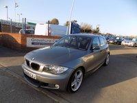 USED 2009 09 BMW 1 SERIES 2.0 118D M SPORT 5d 141 BHP