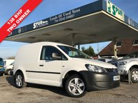 USED 2011 11 VOLKSWAGEN CADDY 2.0 C20 TDI 1d 138 BHP NO VAT, Two Owner, 138 BHP, Well Above Average Example