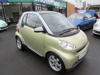 2009 SMART FORTWO 1.0 PASSION MHD 2d AUTO 71 BHP £3700.00