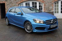 2013 MERCEDES-BENZ A CLASS 1.5 A180 CDI BLUEEFFICIENCY AMG SPORT 5d 109 BHP £12450.00