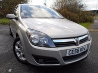 2006 VAUXHALL ASTRA 1.6 SXI 16V TWINPORT 5d 100 BHP ** LOVELY VEHICLE THROUGHOUT ** £2495.00
