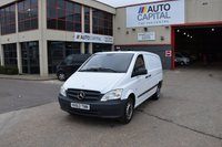 USED 2013 63 MERCEDES-BENZ VITO 2.1 113 CDI 5d 136 BHP LWB FWD DIESEL MANUAL  PANEL MANUAL VAN ONE OWNER FULL S/H SPARE KEY