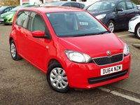 USED 2015 64 SKODA CITIGO 1.0 SE 12V 5d 59 BHP ONE Owner Only £20 Road Tax
