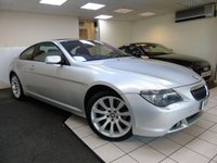 USED 2006 06 BMW 6 SERIES 4.8 650I SPORT 2d AUTO 363 BHP
