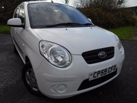 2009 KIA PICANTO 1.0 1 5d 61 BHP  ** 1 PREVIOUS OWNER , IN WHITE ** £3295.00