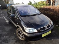 USED 2004 54 VAUXHALL ZAFIRA 1.6 LIFE 16V 5d 99 BHP MOT 1 Year 7 Seater Over £650 Just Spent