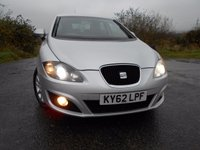 2012 SEAT LEON 1.6 CR TDI SE COPA 5d 103 BHP ** ALLOYS , SATNAV , SUPERB VEHICLE ** £5995.00