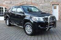 USED 2016 TOYOTA HI-LUX 3.0 INVINCIBLE 4X4 D-4D DCB 1d 169 BHP REVERSE CAMERA - CHROME STYLING BARS