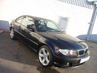 2006 BMW 3 SERIES 2.0 318CI ES 2d 148 BHP £3495.00
