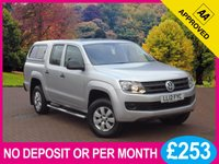 USED 2012 12 VOLKSWAGEN AMAROK 2.0 BiTDI 4MOTION STARTLINE DOUBLE CAB PICK UP 163 BHP + VAT PRICE CHECKED DAILY   WHY PAY MORE ??