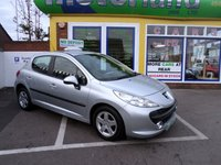 USED 2009 09 PEUGEOT 207 1.4 VERVE 5d 74 BHP 1 YEAR MOT AND 3 MONTHS WARRANTY