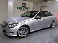 USED 2011 61 MERCEDES-BENZ C CLASS 2.1 C220 CDI Sport Edition 125 7G-Tronic 4dr