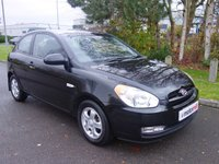 2007 HYUNDAI ACCENT 1.4 ATLANTIC LIMITED EDITION 3d AUTO 96 BHP £2490.00