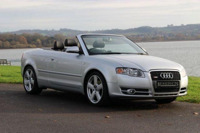 2006 06 AUDI A4 1.8 T S LINE 2d 161 BHP