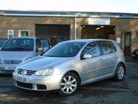 2005 VOLKSWAGEN GOLF 1.9 SPORT TDI 5d 103 BHP £2895.00