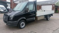 2011 VOLKSWAGEN CRAFTER 2.5 CR35 BLUE TDI 1d 135 BHP LWB 14 ft DROPSIDE  VERY CLEAN /// £5999.00