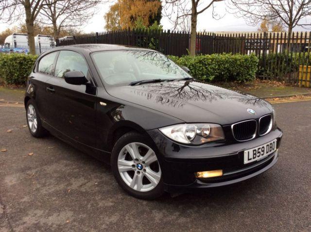 2009 59 BMW 1 SERIES 2.0 118D SE 3d 141 BHP