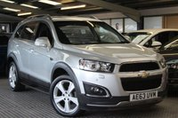 USED 2013 63 CHEVROLET CAPTIVA 2.2 LTZ VCDI 5d AUTO 184 BHP ****** NO PAYMENTS UNTIL FEBRUARY *******