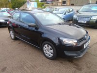 USED 2010 10 VOLKSWAGEN POLO 1.2 S A/C 3d 70 BHP LOW MILEAGE CAR WITH FULL SERVICE HISTORY